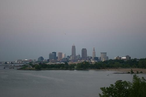 Cleveland from the west