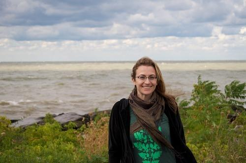Jessica by Lake Erie